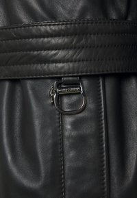 Trussardi - Leather jacket - black - 3