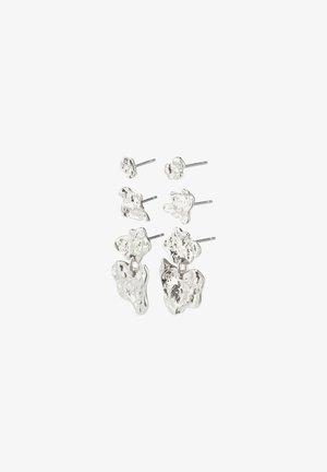 HORIZON - Earrings - silver plated