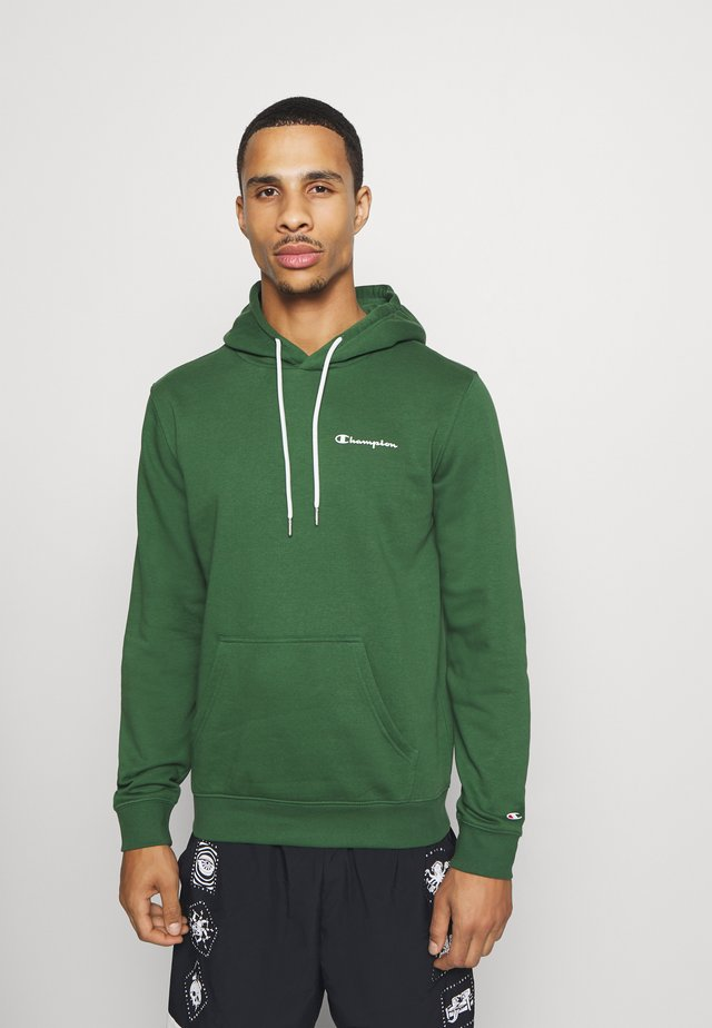 LEGACY HOODED - Bluza z kapturem - dark green