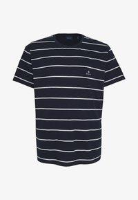 GANT - BRETON STRIPE - T-shirt med print - evening blue - 4
