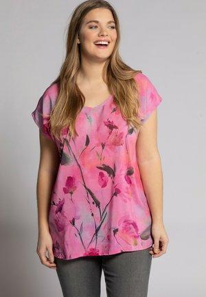 Print T-shirt - flamingo