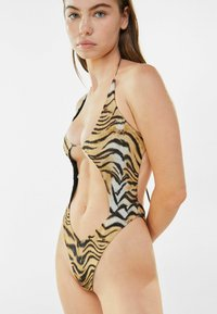 Bershka - Swimsuit - black - 3