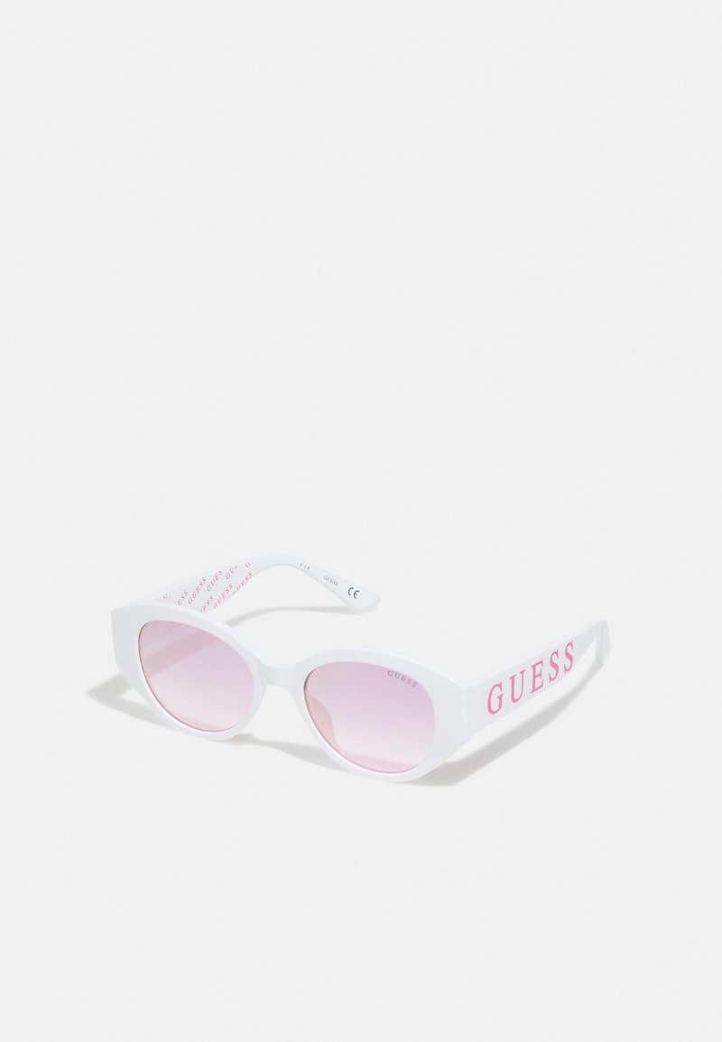 Guess - KIDS EYEWEAR UNISEX - Sunglasses - white
