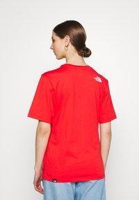 The North Face - SIMPLE DOME - Basic T-shirt - horizon red - 2