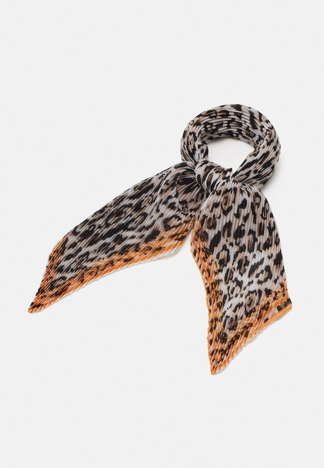 LOWIE PLEA SCARF - Tørklæde / Halstørklæder - brownish