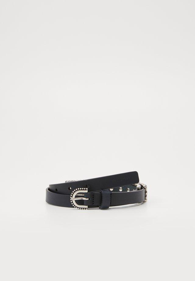 PIGOLIO BELT - Cintura - black