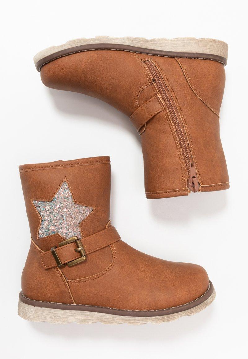 Friboo - Korte laarzen - brown