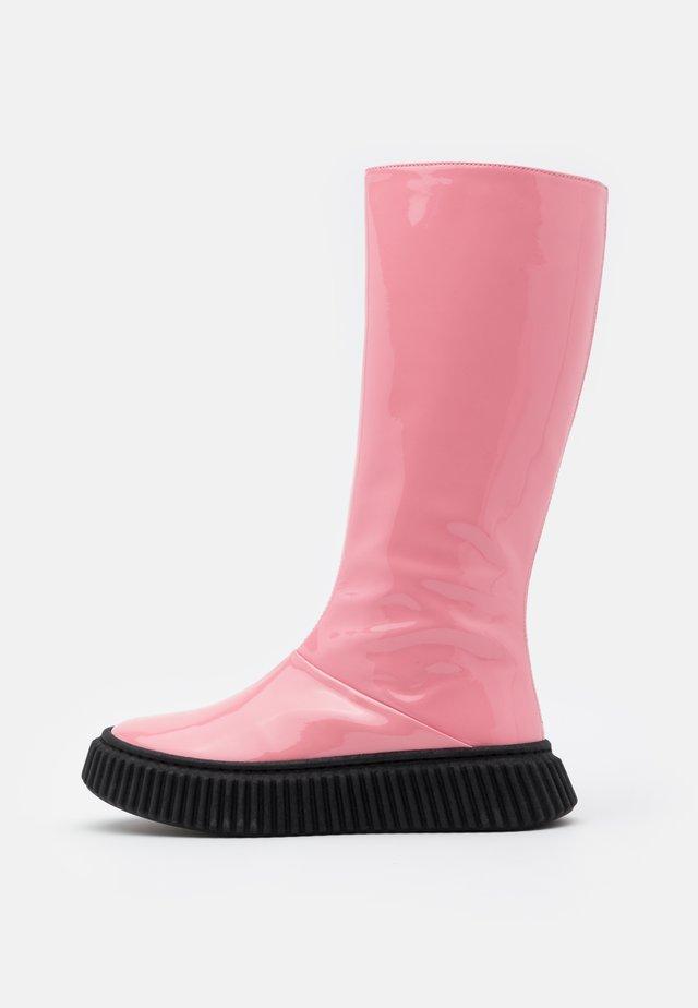 Stiefel - pink