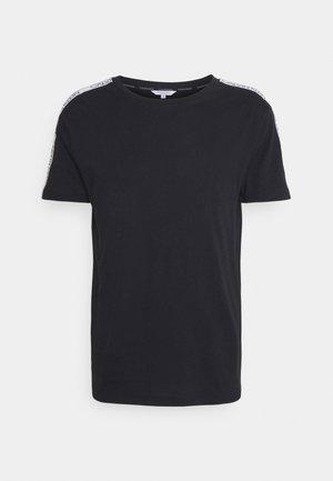 CORE LOGO RELAXED CREW TEE - Pyjama top - black