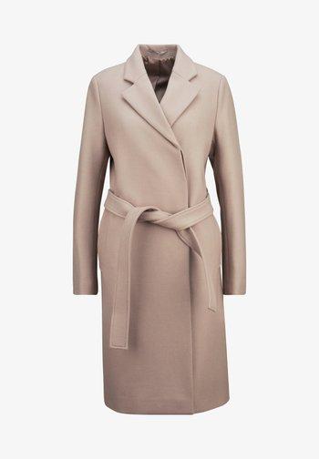 Classic coat - taupe