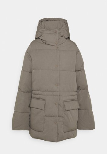 VALEA - Winter coat - muddy beige
