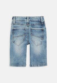 s.Oliver - Denim shorts - blue star - 1