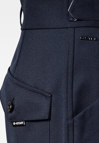 G-Star - 3D WIDE CROP - Trousers - naval blue - 2