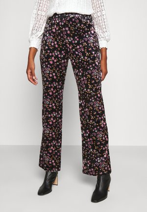 YOUNG LADIES  - Trousers - cravate black
