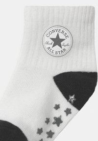 Converse - CONVERSE LOGO INFANT TODDLER QUARTER 3 PACK UNISEX - Sokken - black - 2
