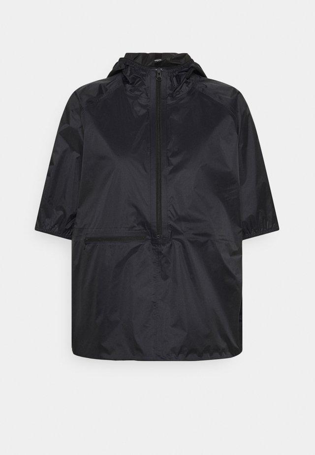 ANORAK - Waterproof jacket - black