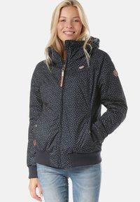 Ragwear - JOTTY DROP  - Waterproof jacket - blue - 0