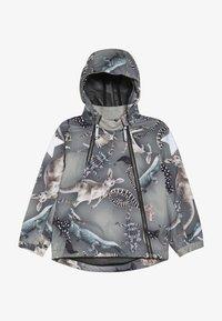 Molo - HOPLA - Waterproof jacket - grey - 3