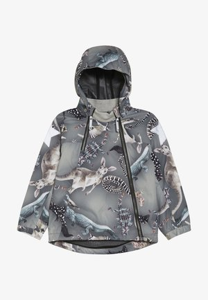 HOPLA - Waterproof jacket - grey