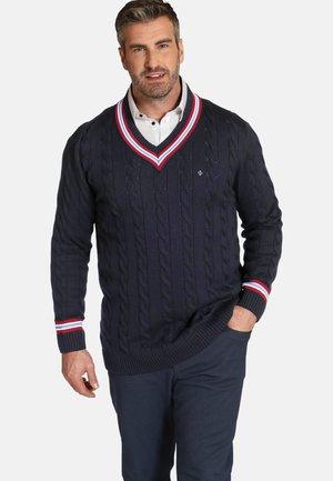 DUKE RONALD - Sweater - dunkelblau