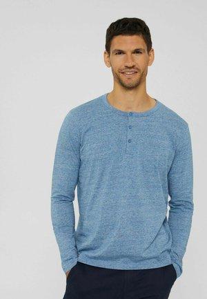 REGULAR FIT - Long sleeved top - blue