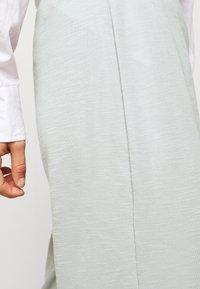 ONLY Petite - ONLLAYLA WIDE PANTS  - Kalhoty - light grey melange - 5