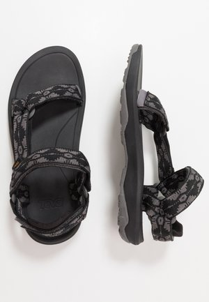Walking sandals - dark gull grey