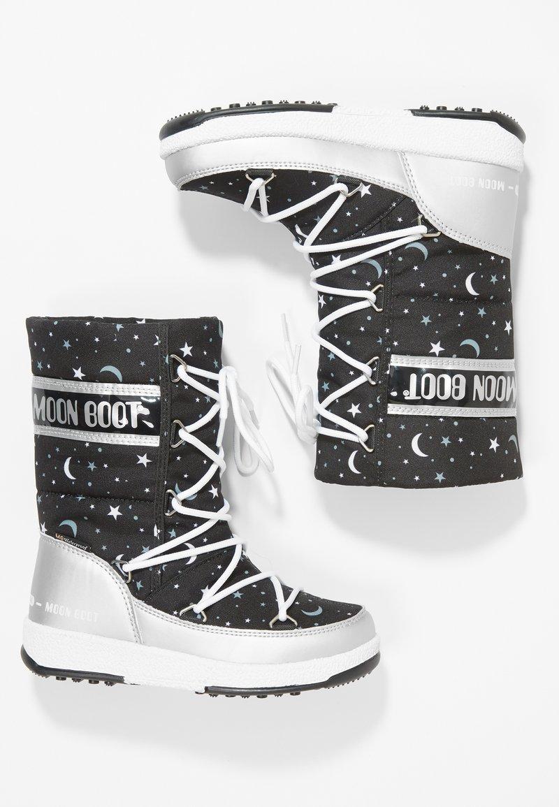 Moon Boot - UNIVERSE - Snowboot/Winterstiefel - silver/black