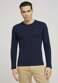 TOM TAILOR - Long sleeved top - dark blue - 0