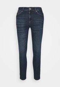 Vero Moda Petite - VMSEVEN  - Slim fit jeans - dark blue denim - 3