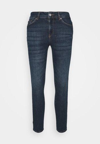 VMSEVEN  - Slim fit jeans - dark blue denim