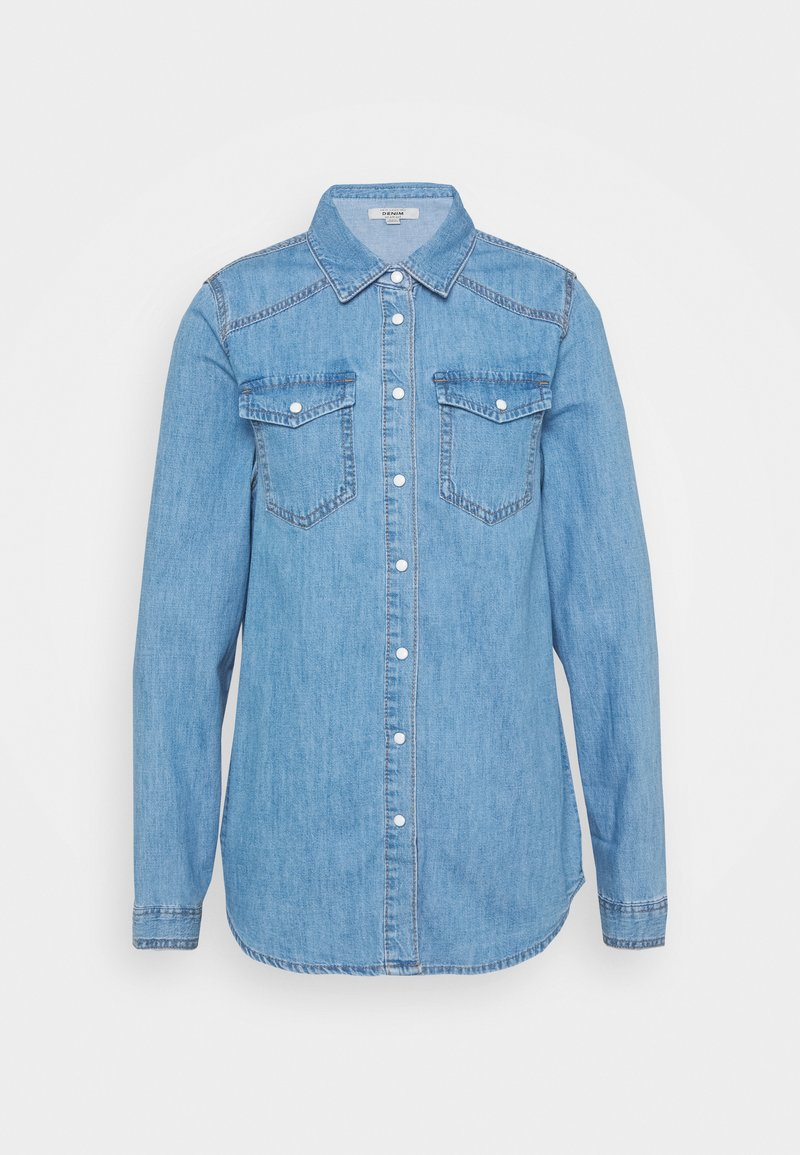 New Look Tall - MACI  - Button-down blouse - mid blue