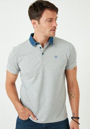 Poloshirt - grey-melange