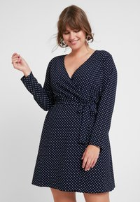 JUNAROSE - by VERO MODA - JRALIKA - Day dress - navy blazer - 0