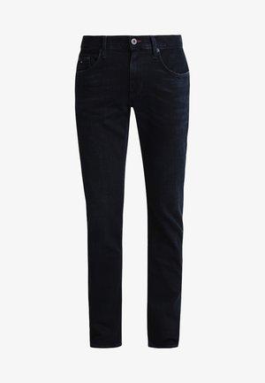 DENTON - Jeans straight leg - blue black