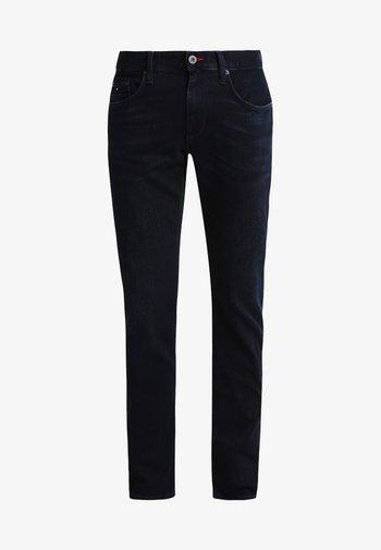 DENTON - Džíny Straight Fit - blue black
