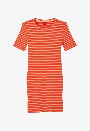 JURK - Jumper dress - orange stripes
