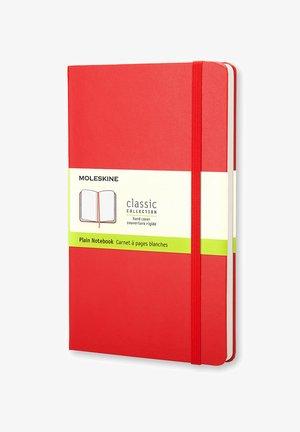 Notizbuch L blanco rot HCDIN A5 - Iné doplnky - red