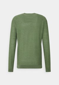 Selected Homme - SLHBUDDY CREW NECK - Maglione - vineyard green - 6
