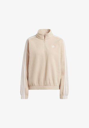 FLEECE HZ - Fleecepullover - halo blush/white