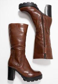 MJUS - Stivali con i tacchi - brandy - 3