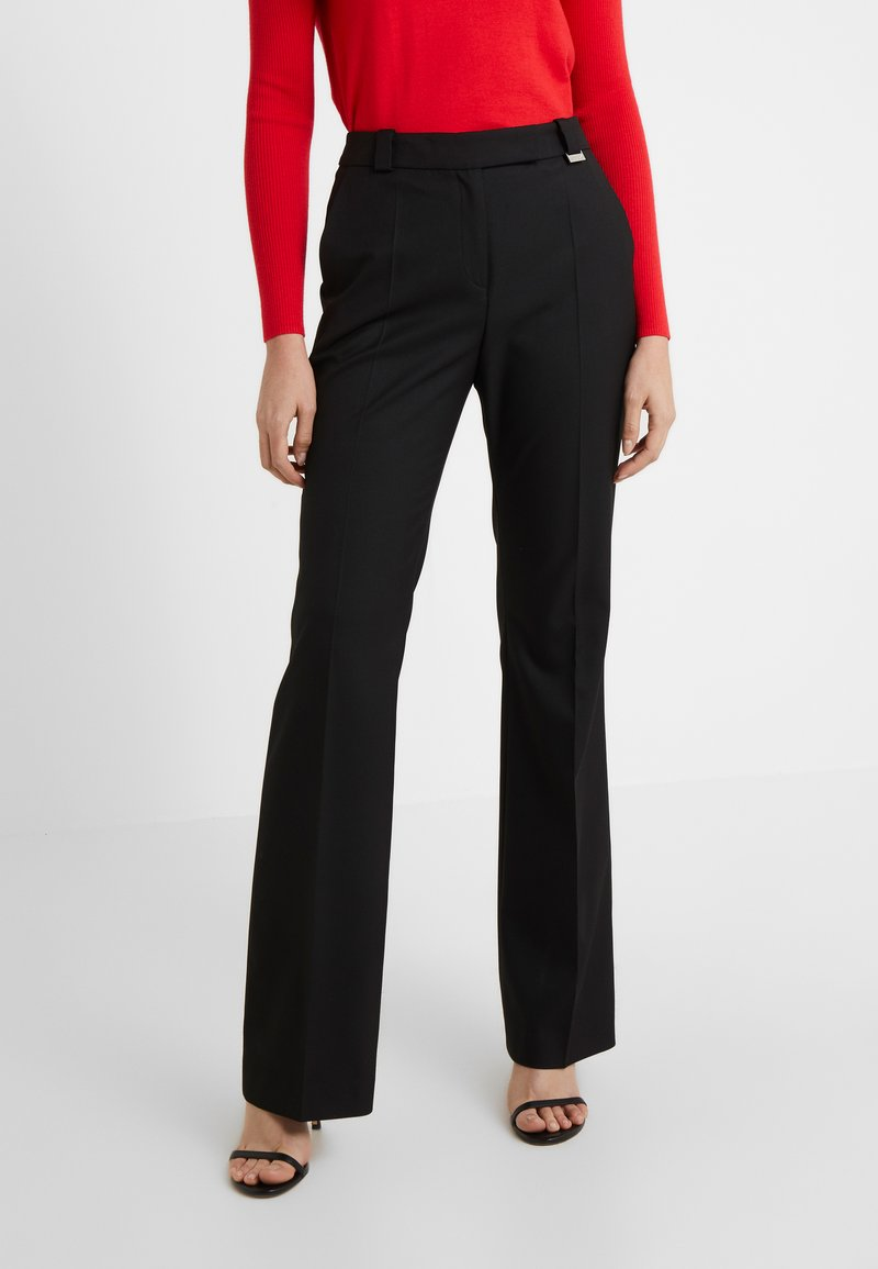 HUGO - HULARIS - Trousers - black
