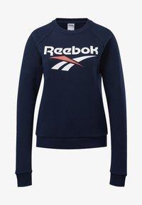 Reebok Classic - CLASSICS VECTOR CREW SWEATSHIRT - Bluza - blue - 6