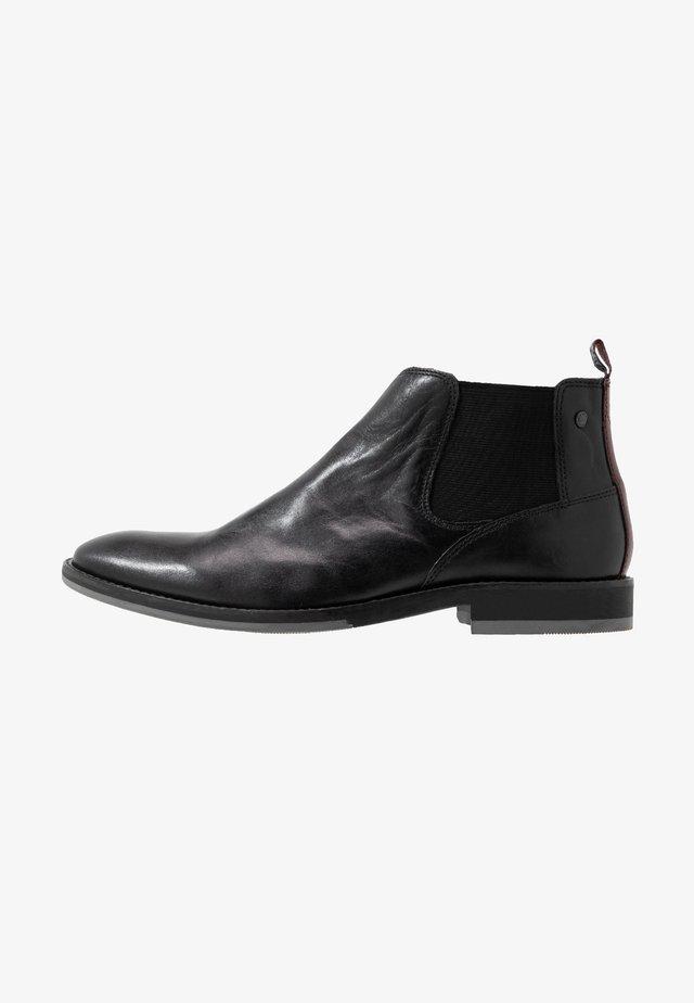 KEELER - Støvletter - black