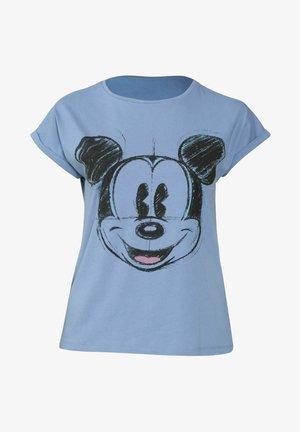 MICKY MAUS - Print T-shirt - dark purple