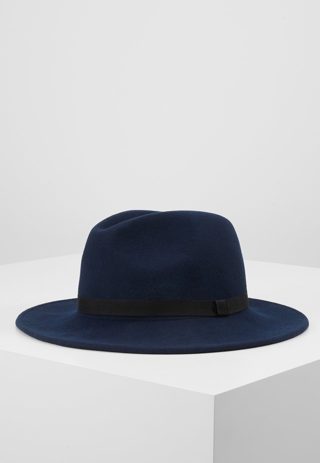 WOMEN HAT FEDORA - Sombrero - dark navy