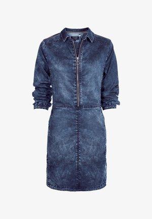 KURZ - Denim dress - jeansblau dunkel
