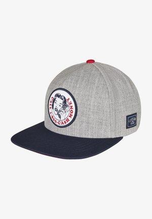 Cap - heather grey/mc