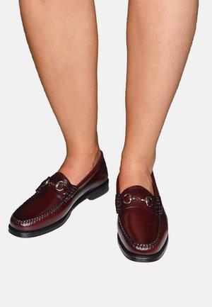 EASY LIANNA - Slip-ons - wine leather
