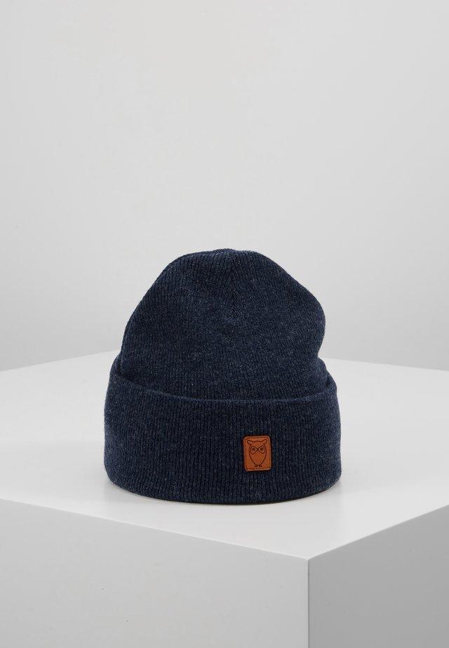 LEAF BEANIE UNISEX - Čepice - blue